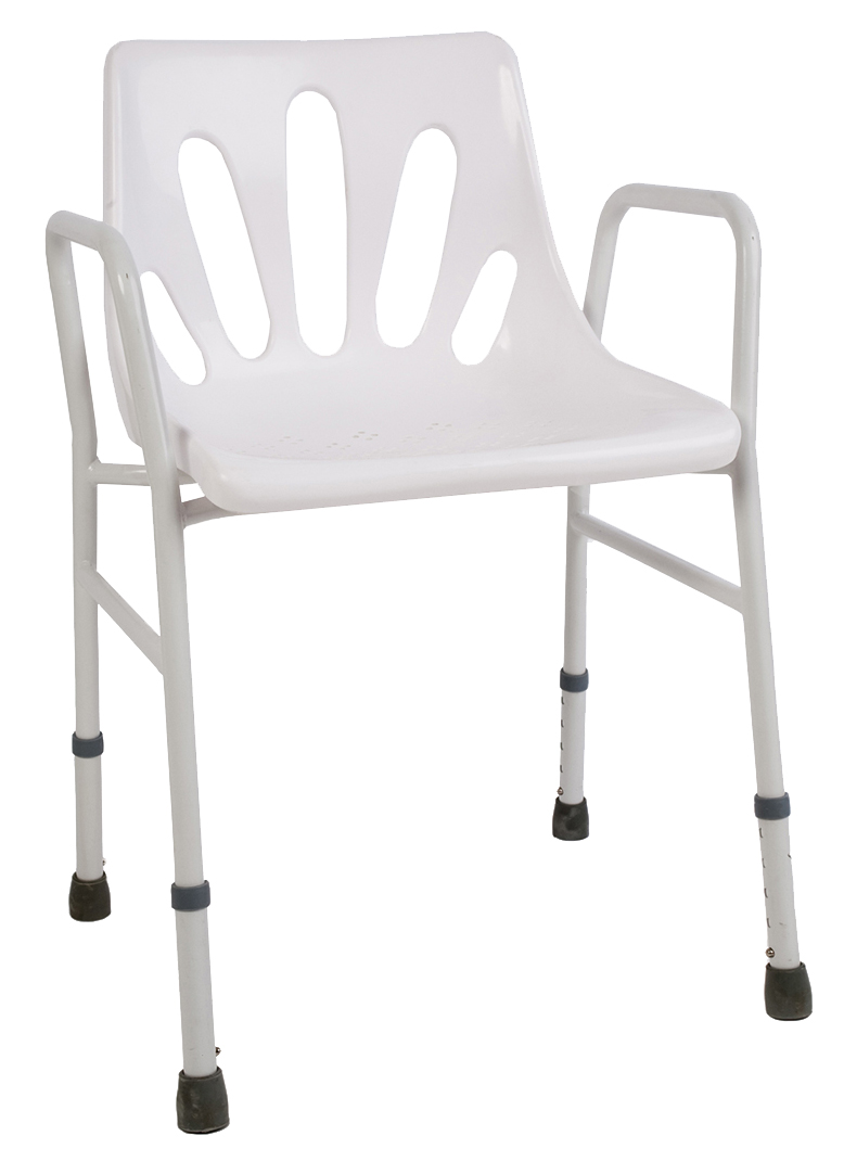 Shower Chair with Arms - Goldfern Mobility