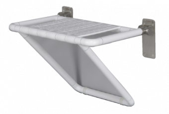 Wall Mounted Fold Up Shower Seat – Goldfern Mobility