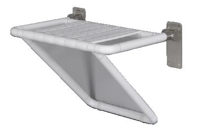 Wall Mounted Fold Up Shower Seat – Goldfern Mobility