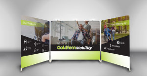 Goldfern Mobility Promotional Display